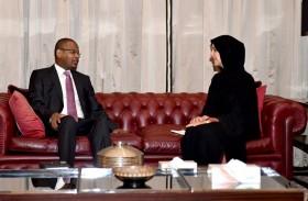 ريم الهاشمي تلتقي رئيس وزراء مالي