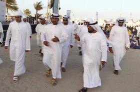 انطلاق فعاليات النسخة العاشرة من مهرجان الظفرة البحري على شاطئ المرفأ