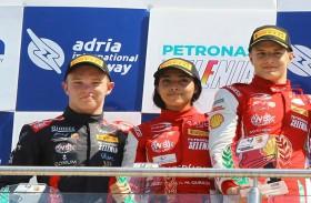 بداية رائعة لآمنة القبيسي في أولى جولات بطولة الفورمولا 4 الإيطالية