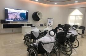 منتسبو اجتماعية الشارقة في رحلة افتراضية إلى متحف الشندغة