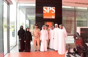 مجلس شرطة دبي لطلبة الكليات والجامعات يزور مركز الشرطة الذكي