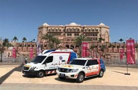 شرطة أبوظبي توفر 50 نقطة إسعاف لتعزيز الاستجابة السريعة للحالات الطارئة