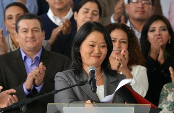 فوجيموري تقر بخسارتها انتخابات البيرو