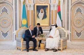 محمد بن زايد يؤكد حرص الامارات على بناء جسور التواصل والتعاون مع مختلف دول العالم