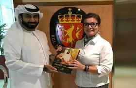 مركز الإمارات للدراسات والبحوث الاستراتيجية يهدي إصداراته للقنصلية النرويجية