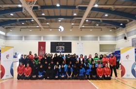 «الشارقة لرياضة المرأة» تنظم يوماً رياضياً لطالبات الجامعة القاسمية