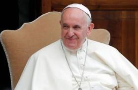 """البابا يحذر من """"الحلول الجائرة"""" للصراع الإسرائيلي الفلسطيني"""
