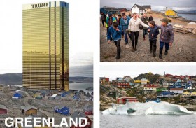 غرينلاند، قاعدة امامية تستهوي امبراطور العقارات...!