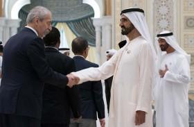 محمد بن راشد ومحمد بن زايد يستقبلان وفود عدد من الجهات الحكومية والسلك الدبلوماسي بمناسبة رمضان
