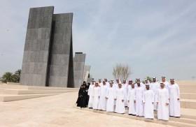 وفد بلدية مدينة أبوظبي يزور واحة الكرامة