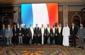 نهيان بن مبارك يحضر حفل استقبال سفارة فرنسا