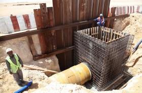 كهرباء ومياه دبي : تقدم ملحوظ في مشروع خطوط توزيع الماء في إمارة دبي