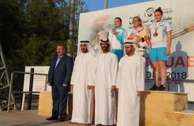 الإماراتي الطنيجي يتوج بذهبية المسدس 10 أمتار في بطولة عام زايد