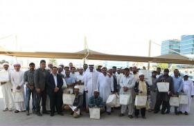 51 عاملاً بدوائر رأس الخيمة يؤدون «عمرة المشتاقين»