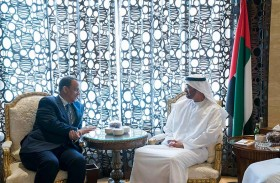 محمد بن زايد يؤكد حرص الإمارات على دعم جهود الأمم المتحدة للتوصل إلى حل سياسي في اليمن وتطهيره من الجماعات الإرهابية