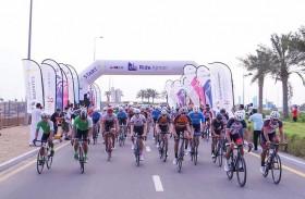 500 دراج في جولة عجمان السنوية الرابعة للدراجات