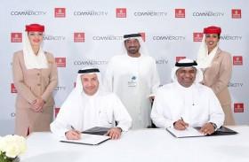 الإمارات للشحن الجوي توقع مذكرة تفاهم مع «دبي كوميرسيتي»