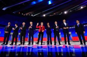 عزل ترامب يطغى على سباق الديموقراطيين للانتخابات