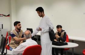 ورشة عمل بعنوان طريقة استخدام معدات التصوير الرقمية في جامعة الامارات