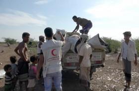 الإمارات تقدم مساعدات إغاثية عاجلة لأهالي «الهليبي» بالساحل الغربي اليمني