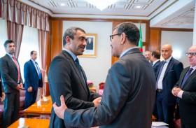 الوزير الأول في الجزائر يستقبل عبدالله بن زايد