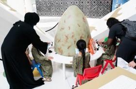 جمهور معرض الصيد يتعرف على التطور المذهل في تطبيق رؤية الشيخ زايد لاستدامة الحبارى بعد 40 عاماً من إطلاقها