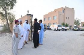 بلدية مدينة أبوظبي تنفذ حملة توعوية بقانون إشغال الوحدات السكنية في الشهامة