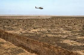 الجزائر تنهي بناء الساتر الترابي على الحدود التونسية