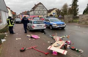 52 جريحا بينهم أطفال بحادث الدهس في ألمانيا