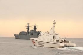 تعاون بين الناتو وخفر السواحل الجورجيين