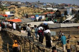اتهام بورما بالفصل العنصري ضد الروهينغا