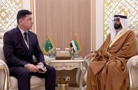البواردي يستقبل نائب وزير الدفاع التركماني