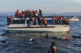 فقدان 10 مهاجرين حاولوا العبور الى اليونان