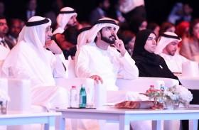 حمدان بن محمد يشهد جانباً من منتدى السياحة الصحية