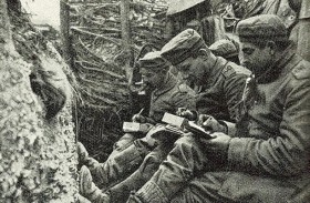 كيف كانت مراسلات الجنود بالحرب العالمية؟