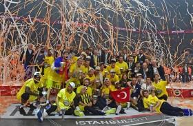 فريق فنرباهتشه بطل «دوري الخطوط الجوية التركية لكرة السلة الأوروبي» (يورو ليغ) لموسم 2016-2017