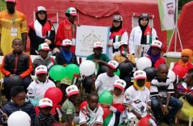 حملة الشيخة فاطمة الانسانية تمكن شباب الامارات من التخفيف من معاناة مليون طفل وامرأة في عام التسامح