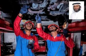 124 ألف مركبة تستفيد من خدمات الإمارات للخدمات الفنية خلال النصف الأول
