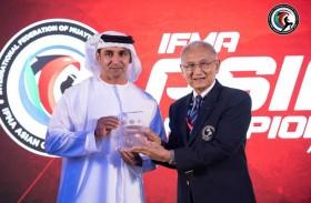 عبدالله النيادي دعم واهتمام القيادة الرشيدة حافزا لإنجاح بطولة العالم للمواي تاي