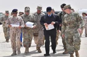 اختتام التمرين العسكري المشترك  ناتي فيوري-20  بين القوات الإماراتية وأمريكية