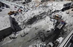 69 قتيلاً حصيلة تفجير مستودع إدلب