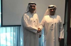 مركز الإمارات للتحكيم البحري يبحث سبل التعاون المشترك مع شركة أبوظبي لبناء السفن