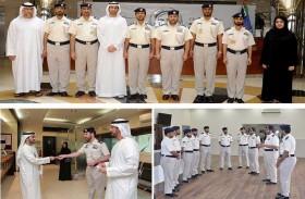 مجلس شباب شرطة أبوظبي يختتم مبادرة فخر زايد