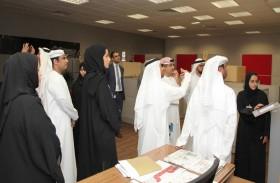 دائرة القضاء في أبوظبي تفتتح استراحة للإعلاميين في مبناها الجديد