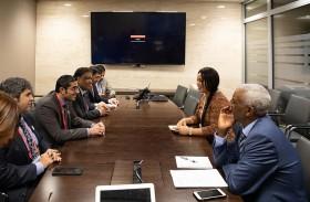 الإمارات تستعرض التعاون في قضايا العمل مع المغرب ورواندا وغانا واثيوبيا واوغندا
