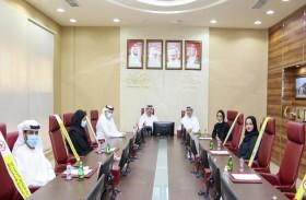 هيئة النقل والمنطقة الحرة في عجمان يبحثان تعزيز التعاون المشترك