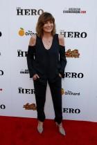 """كاثرين روس خلال حضورها العرض الأول لفيلم """"البطل"""" في لوس أنجلوس بكاليفورنيا.     (رويترز)"""