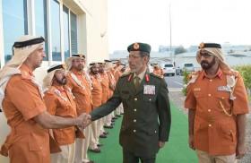 رئيس أركان القوات المسلحة يزور قيادة الوحدات المساندة