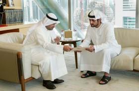 محمد بن راشد يتلقى رسالة من رئيس مجلس الوزراء الكويتي