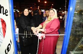 مواطنة تفتتح محلاً للحلويات والعصائر بدعم صندوق خليفة للمشاريع التي تملكها النساء